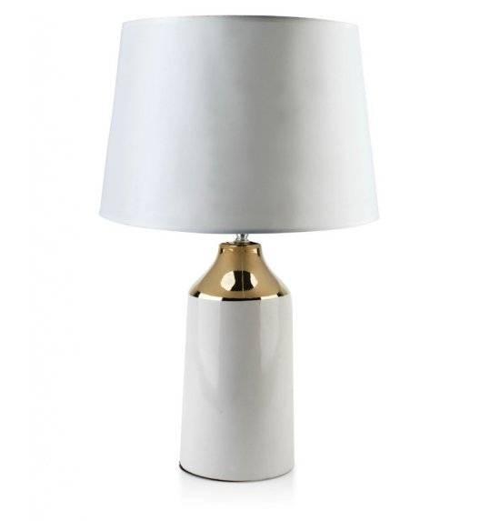 MONDEX DELIA Lampa 55 cm / biała / ceramika