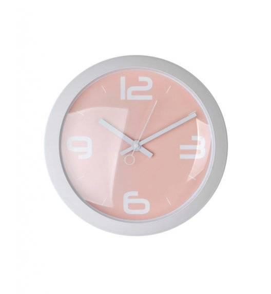 MONDEX Zegar ścienny okrągły 25,4 cm / różowy