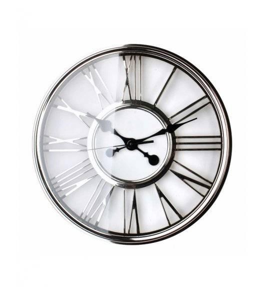 MONDEX Zegar ścienny okrągły 45,7 cm / chromowane złoto