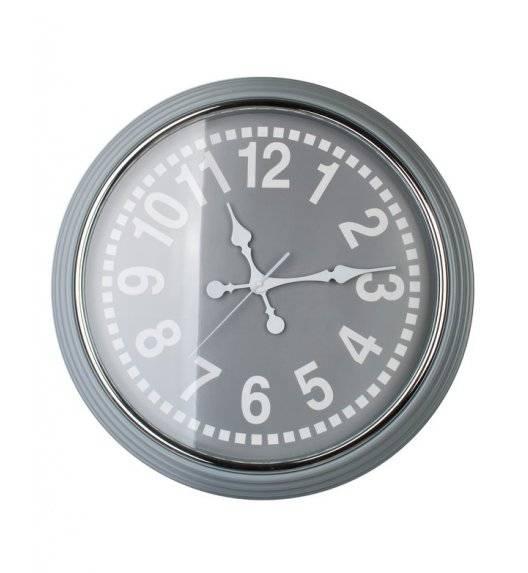 MONDEX Zegar ścienny okrągły 58,4 cm / szary