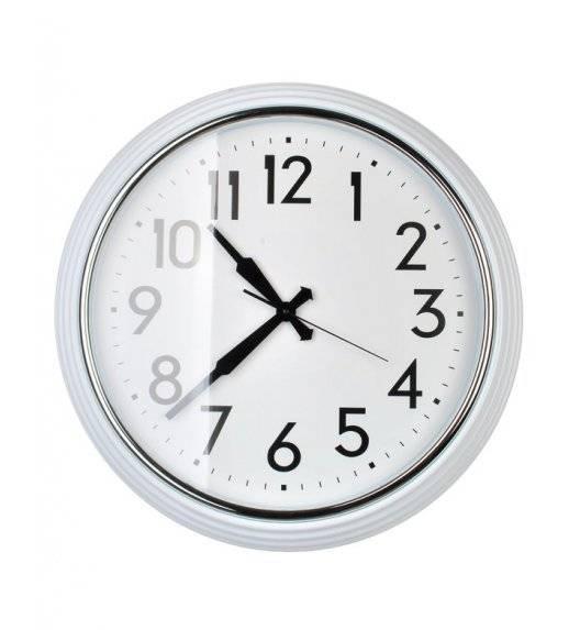 MONDEX Zegar ścienny okrągły 58,4 cm / biały