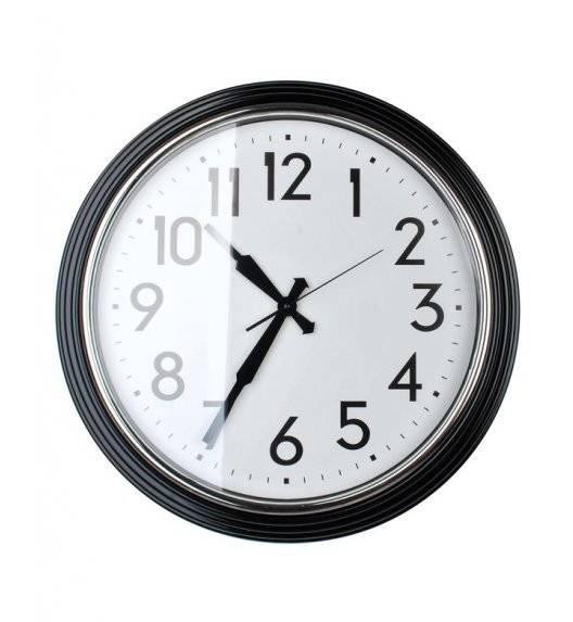 MONDEX Zegar ścienny okrągły 58,4 cm / czarny