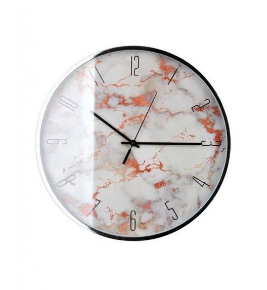 MONDEX Zegar ścienny okrągły 40,6 cm / marmur