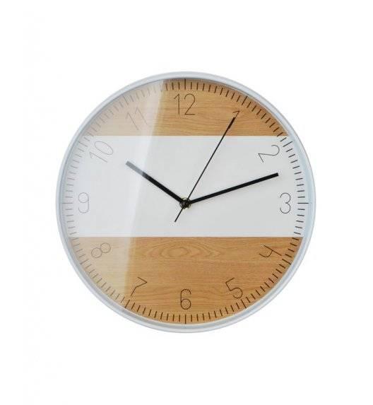 MONDEX Zegar ścienny okrągły 30,5 cm / imitacja drewna