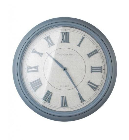 MONDEX Zegar ścienny okrągły 55,8 cm / szary