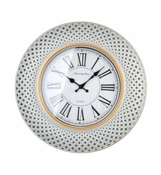 MONDEX Zegar ścienny okrągły 50,6 cm / biały
