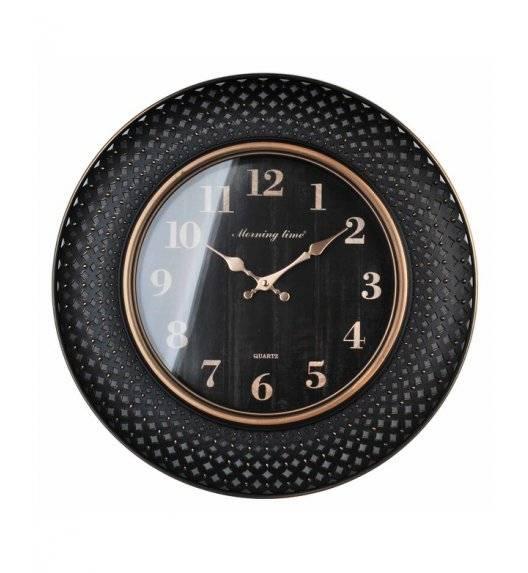 MONDEX Zegar ścienny okrągły 50,6 cm / czarny