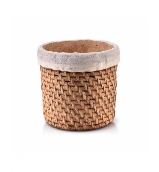 MONDEX ROSITA Doniczka ceramiczna 13,5 x 13 cm