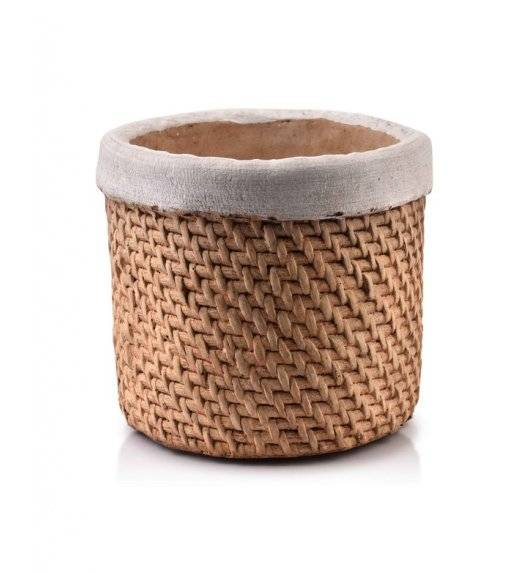 MONDEX ROSITA Doniczka ceramiczna 17 x 13,5 cm
