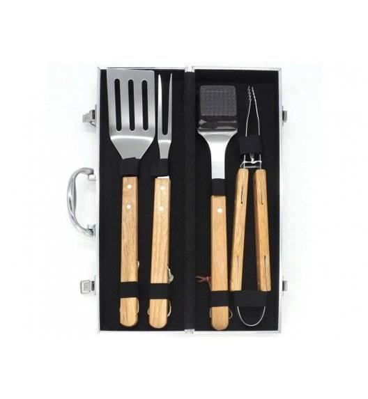 PATIO Zestaw narzędzi do grilla w walizce / 5 elementów