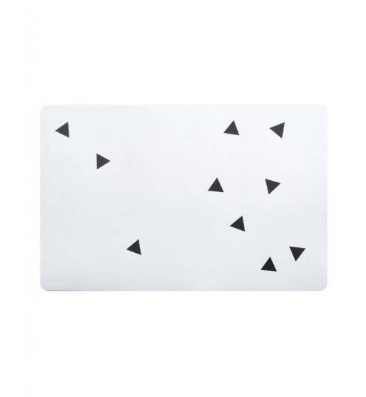 MONDEX BASIC KITCHEN  Mata stołowa dekoracyjna 43,5 x 28,2 cm / biała
