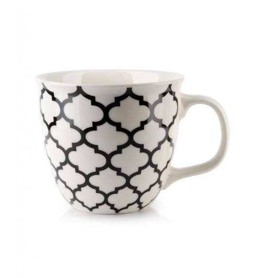 AFFEKDESIGN MAROCCO Kubek 510 ml / porcelana / czarny wzór