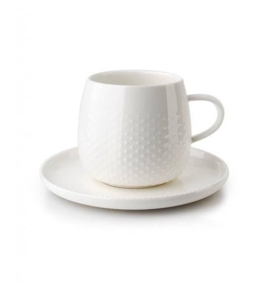 MONDEX KROPLA DESZCZU Filiżanka 300 ml ze spodkiem 15 cm / porcelana