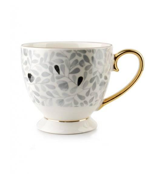 AFFEKDESIGN NICOLE Kubek 400 ml / porcelana / szary wzór