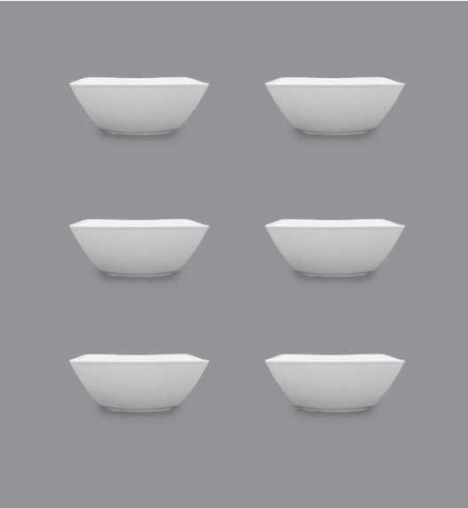 LUBIANA VICTORIA Komplet Salaterka 13 cm / 6 el / 6 os / porcelana