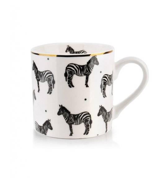 AFFEKDESIGN WILD Kubek 400 ml / zebra / porcelana