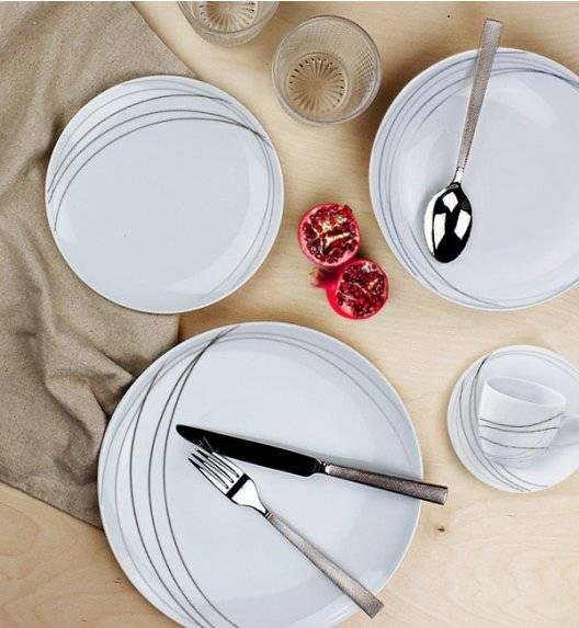 KRISTOFF O'LE 7055 Serwis obiadowo kawowy 90 el / 18 osób / porcelana
