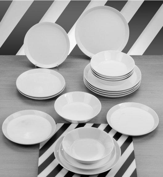 KAROLINA TRENDY Serwis obiadowy 54 elementy dla 18 osób / Porcelana