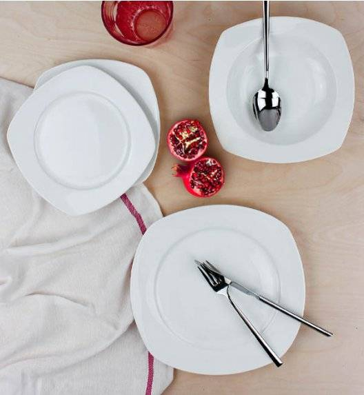 AFFEKDESIGN FANNY Serwis obiadowy 18 elementów / 6 osób / porcelana