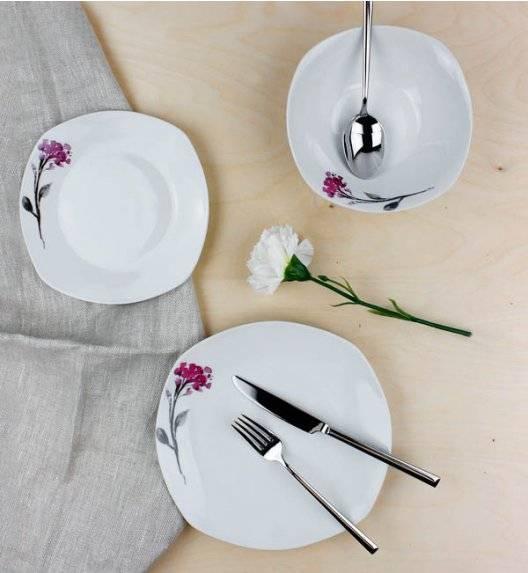 AFFEKDESIGN KWIATY Serwis obiadowy 18 elementów / 6 osób / porcelana