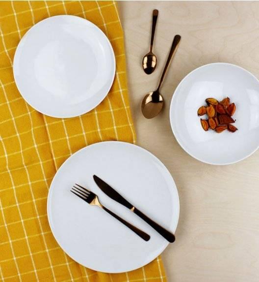 DOMINO Z-N Serwis obiadowy 18 elementów / 6 osób / porcelana