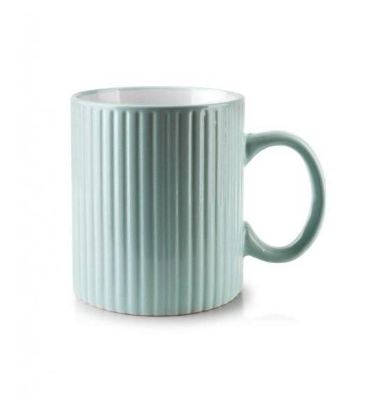 AFFEKDESIGN SALLY STRIPES  Kubek 400 ml / miętowy / ceramika