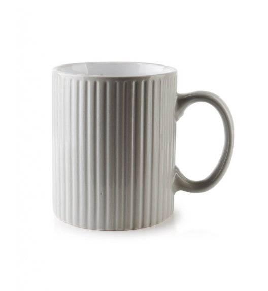 AFFEKDESIGN SALLY STRIPES  Kubek 400 ml / szary / ceramika