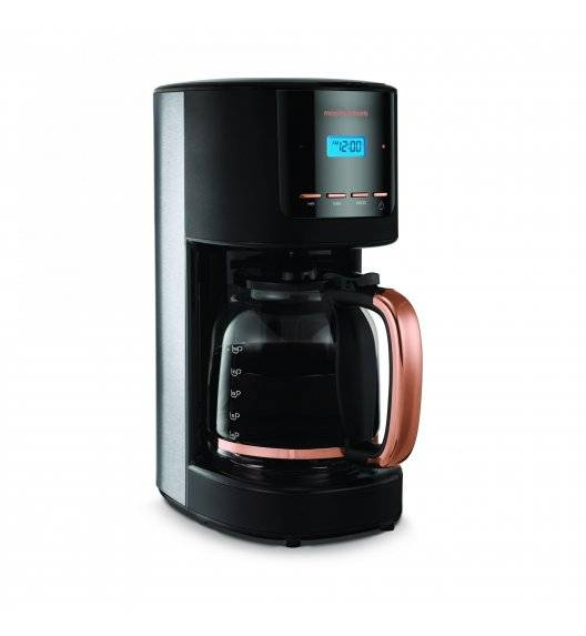 MORPHY RICHARDS ACCENTS Ekspres przelewowy do kawy rosegold / Technologia Pour Oven