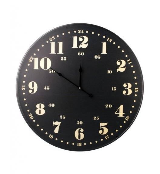 MONDEX Zegar ścienny okrągły 60 cm / czarny
