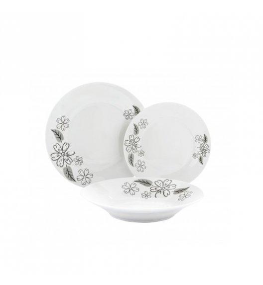 TADAR ARABESKA Serwis obiadowy 17 elementów dla 6 osób / ceramika