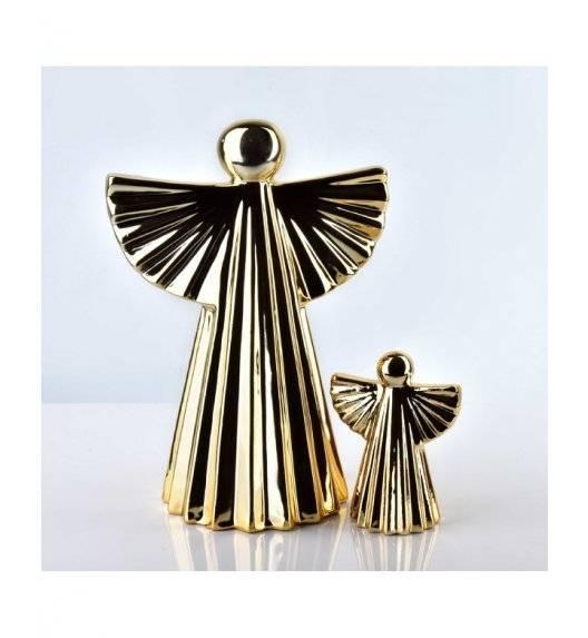 MONDEX ANGEL Figurka 8 x 10,7 cm / złota / ceramika