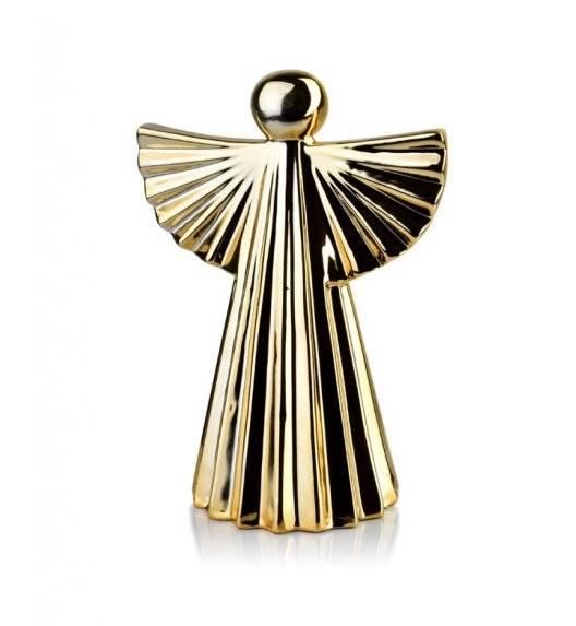 MONDEX ANGEL Figurka 17 x 24,5 cm / złota  / ceramika