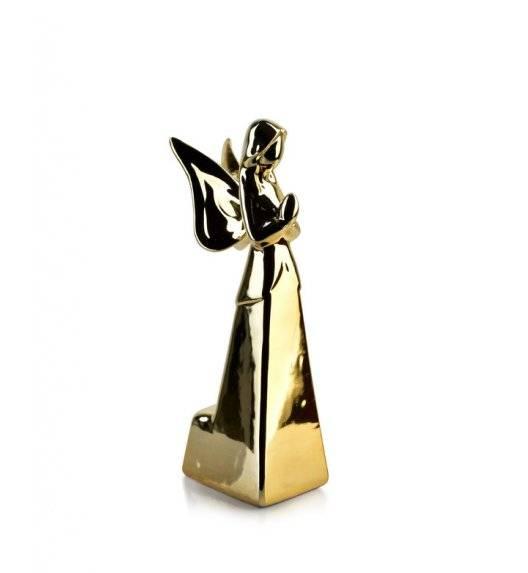 MONDEX ANGEL Figurka 9 x 23,20 cm / złota / ceramika