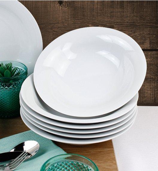 WYPRZEDAŻ! LUBIANA ETO / TIAGO Komplet 6 talerzy głębokich / porcelana