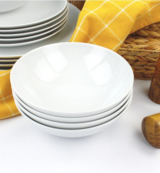 WYPRZEDAŻ! LUBIANA BOSS Komplet 6 salaterek / porcelana