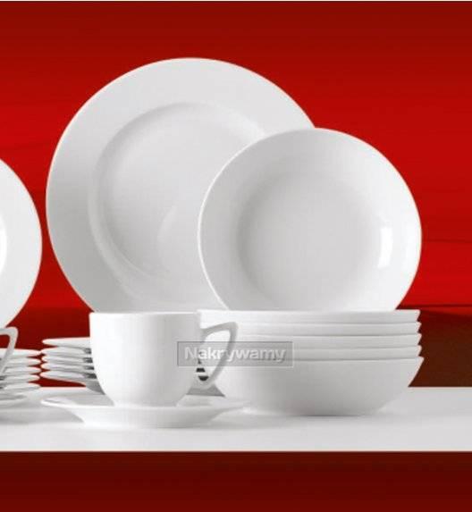 WYPRZEDAŻ! Lubiana ROMA-AMBASADOR Komplet 6 talerzy głębokich / porcelana