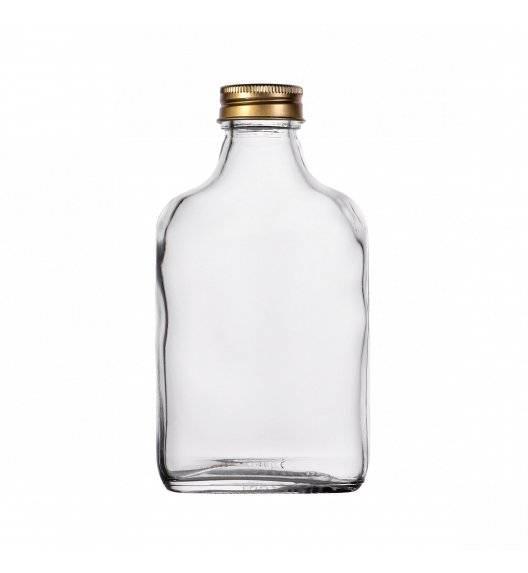 TADAR Butelka do nalewek z zakrętką 200 ml / szkło