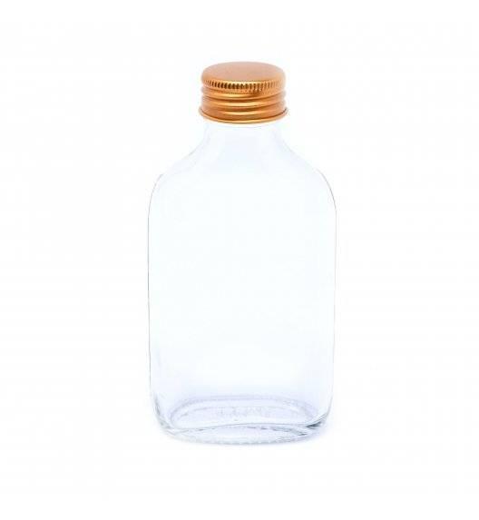 TADAR Butelka do nalewek z zakrętką 100 ml / szkło