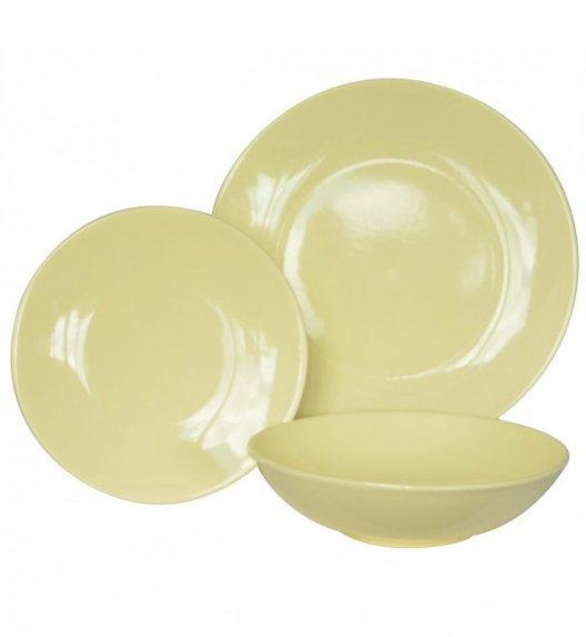 WYPRZEDAŻ! TADAR EGE Talerz deserowy 20 cm luzem / żółty / ceramika