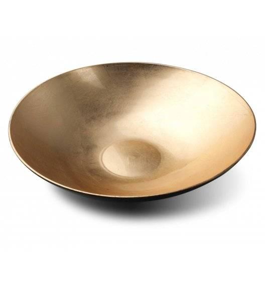 MONDEX BLANCHE COLOURS Misa dekoracyjna Ø33 cm / złota / tworzywo sztuczne