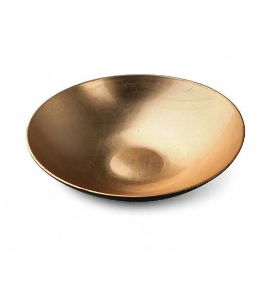 MONDEX BLANCHE GOLD Misa dekoracyjna Ø28 cm / złota / tworzywo sztuczne
