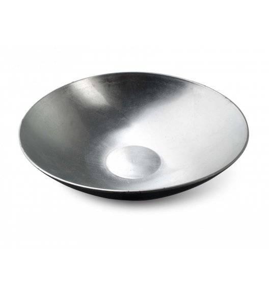 MONDEX BLANCHE SILVER Misa dekoracyjna Ø28 cm / srebrna / tworzywo sztuczne