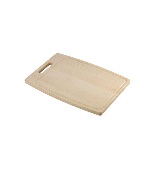 Deska do krojenia Tescoma Home Profi 40 x 26 cm drewno bukowe jasne.