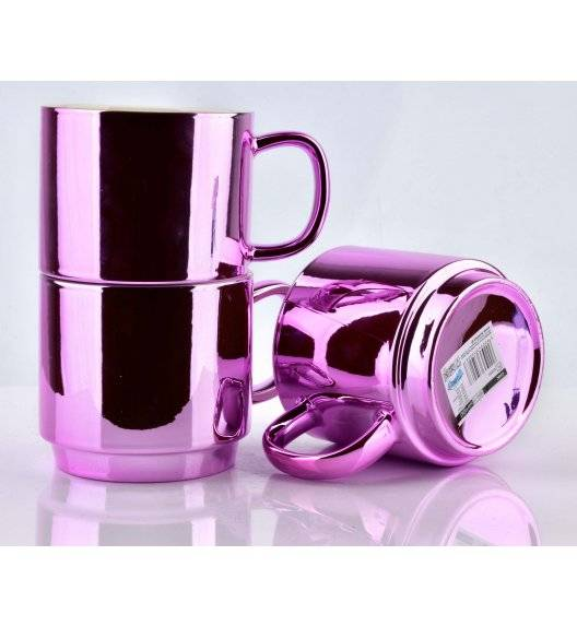 AFFEKDESIGN CHIC Kubek różowy / 420 ml / porcelana