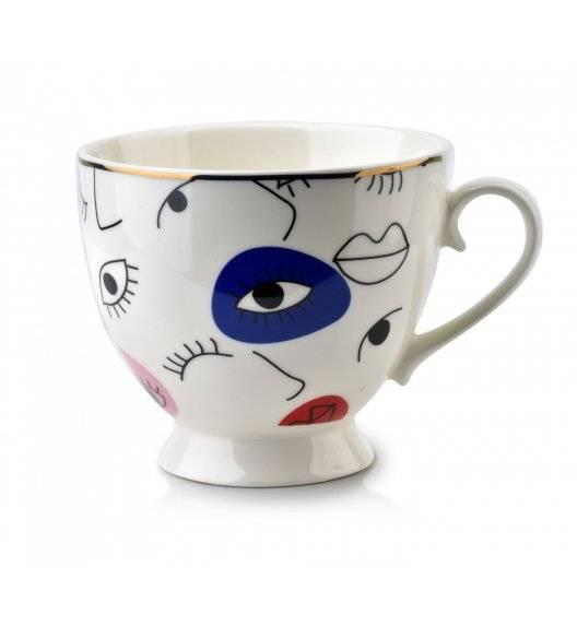 AFFEKDESIGN EYE Kubek / biały / 400 ml / porcelana