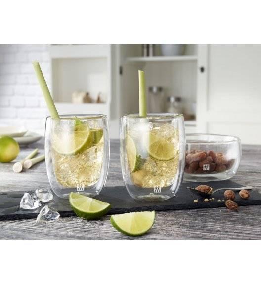 ZWILLING SORRENTO Zestaw dwóch szklanek do kawy / 200 ml / szkło