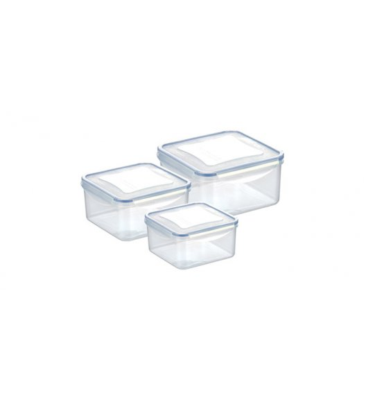 WYPRZEDAŻ! Komplet pojemników prostokątnych na żywność Tescoma Freshbox, 6 elementów.