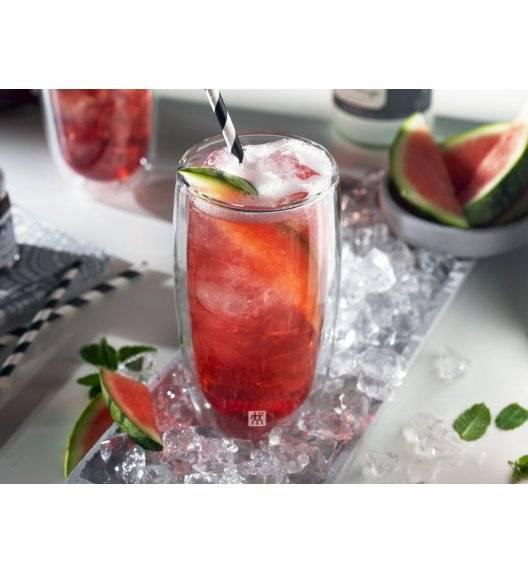 ZWILLING SORRENTO Zestaw dwóch szklanek wysokich / 474 ml / szkło