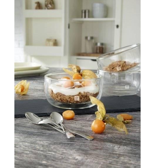 ZWILLING SORRENTO Zestaw dwóch misek deserowych / 280 ml / szkło