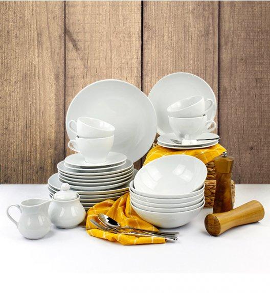 LUBIANA BOSS Serwis obiadowo - kawowy 37 el / 6 osób / porcelana
